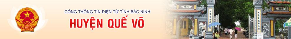 Banner huyện Quế Võ