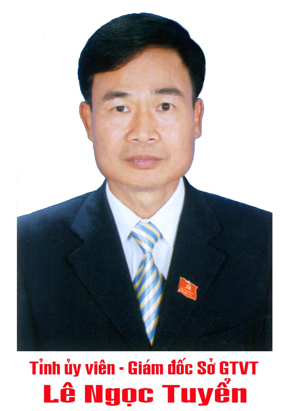 Giám đốc Sở Lê Ngọc Tuyển